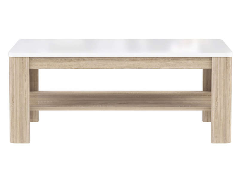 Table basse rectangulaire levi chez conforama for Table basse london conforama