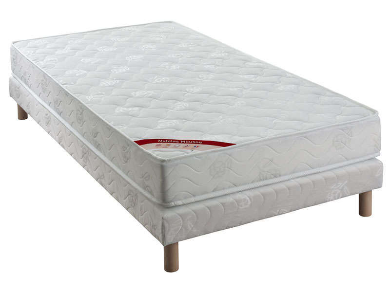 matelas sommier 90x190 cm confo bed acces vente de. Black Bedroom Furniture Sets. Home Design Ideas