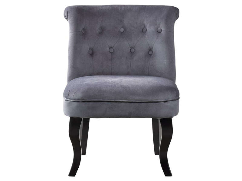fauteuil marquis coloris gris vente de tous les fauteuils conforama. Black Bedroom Furniture Sets. Home Design Ideas