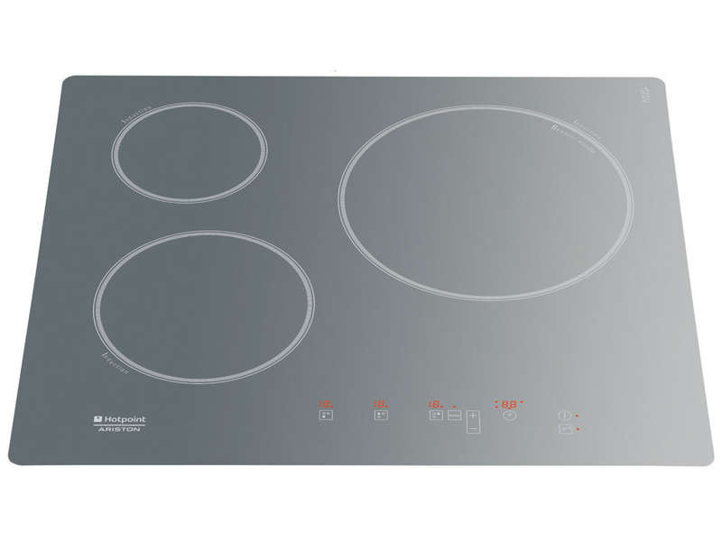 table de cuisson induction 3 foyers hotpoint kic631cices