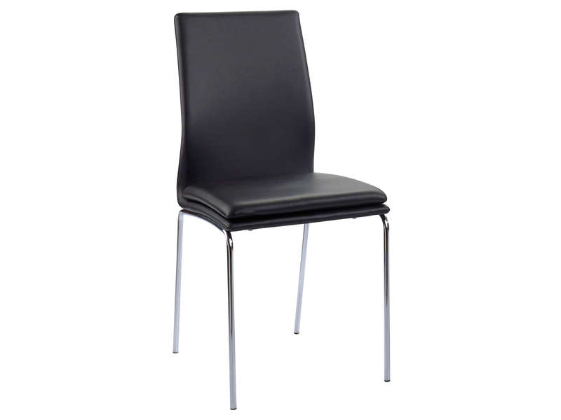 Chaise greg coloris noir vente de chaise conforama - Conforama chaise salon ...