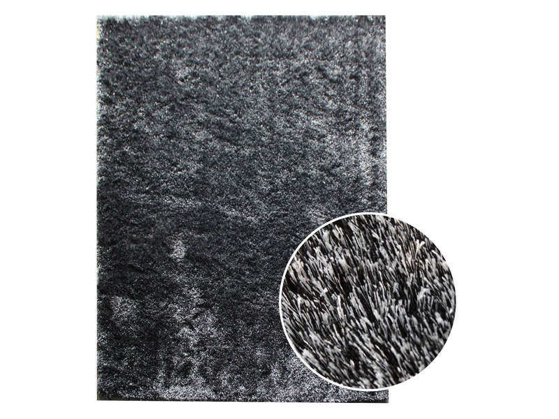 tapis 160x230 cm glitter coloris noir vente de tapis. Black Bedroom Furniture Sets. Home Design Ideas