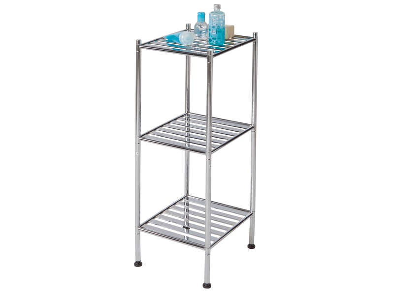 Etag re en m tal metall vente de armoire colonne for Etagere salle de bain fly