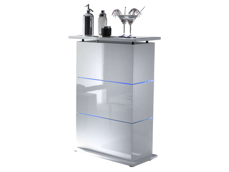 Conforama meuble bar d angle table de lit a roulettes for Bar cuisine conforama