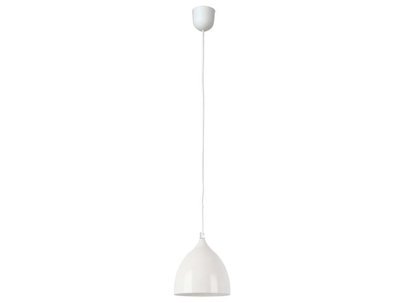 Suspension basik coloris blanc vente de luminaire enfant conforama for Luminaire multi suspension colore enfant