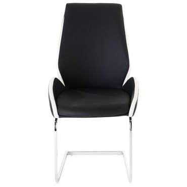 Chaise INDIANA coloris noir et blanc
