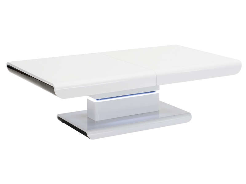 Table basse for Table blanche conforama