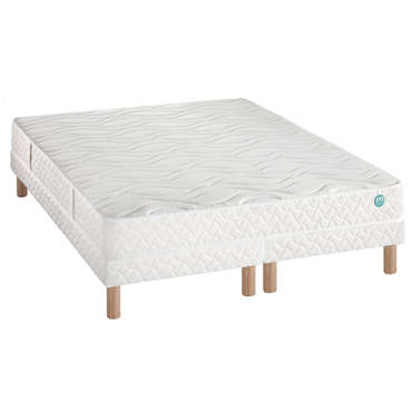 matelas sommier 160x200 cm merinos cherry vente de ensemble matelas et sommier conforama. Black Bedroom Furniture Sets. Home Design Ideas