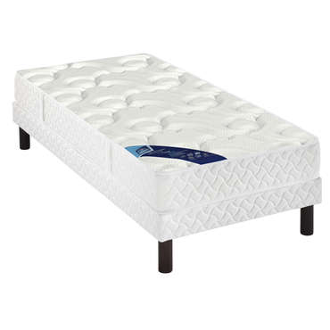 matelas sommier 90x190 cm merinos young vente de ensemble matelas et sommier conforama. Black Bedroom Furniture Sets. Home Design Ideas