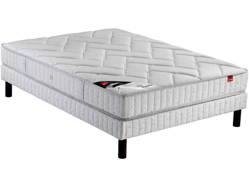 matelas sommier 140x190 cm isla epeda vente de ensemble matelas et sommier conforama. Black Bedroom Furniture Sets. Home Design Ideas
