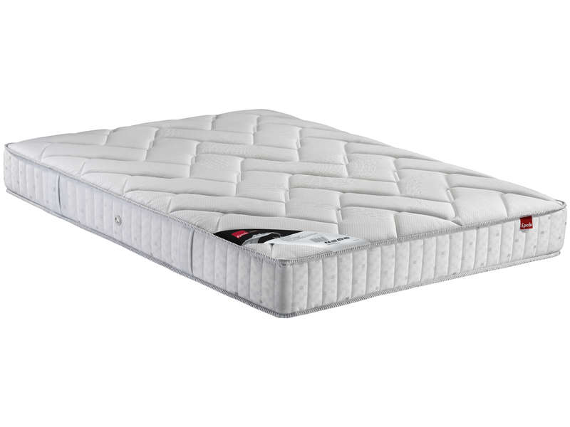 matelas 180x200 cm sommier 2x90x200 cm epeda isla vente de ensemble matelas et sommier. Black Bedroom Furniture Sets. Home Design Ideas