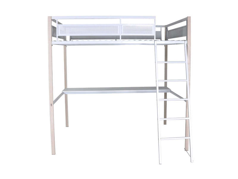 lit mezzanine 140 cm blink vente de lit enfant conforama. Black Bedroom Furniture Sets. Home Design Ideas