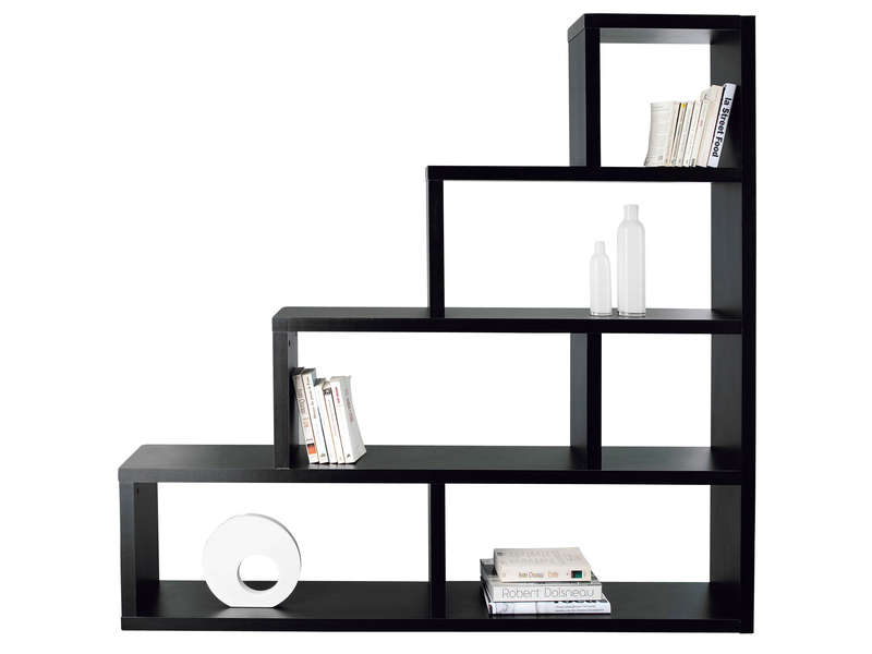 s paration zoe 5 coloris noir vente de biblioth que et. Black Bedroom Furniture Sets. Home Design Ideas