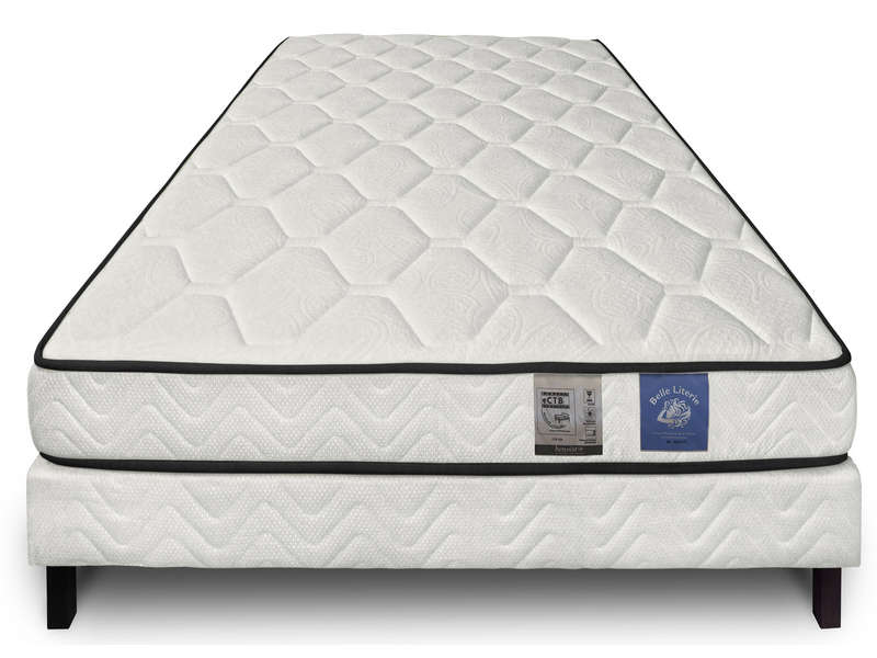 matelas ressorts 90x190 cm benoist belle literie zenium. Black Bedroom Furniture Sets. Home Design Ideas