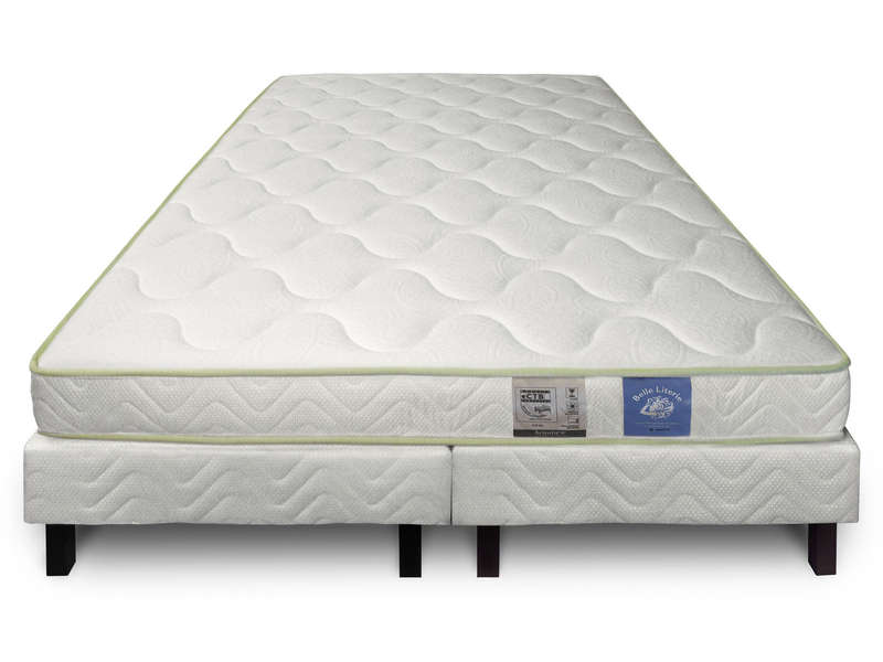 matelas sommier 160x200 cm benoist belle literie kalhua. Black Bedroom Furniture Sets. Home Design Ideas