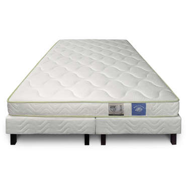 matelas sommier 180x200 cm benoist belle literie kalhua. Black Bedroom Furniture Sets. Home Design Ideas