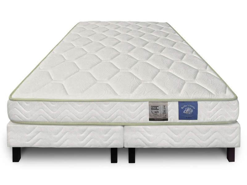 matelas sommier 180x200 cm benoist belle literie karib vente de ensemble matelas et sommier. Black Bedroom Furniture Sets. Home Design Ideas