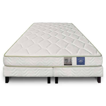 matelas sommier 180x200 cm benoist belle literie karib. Black Bedroom Furniture Sets. Home Design Ideas