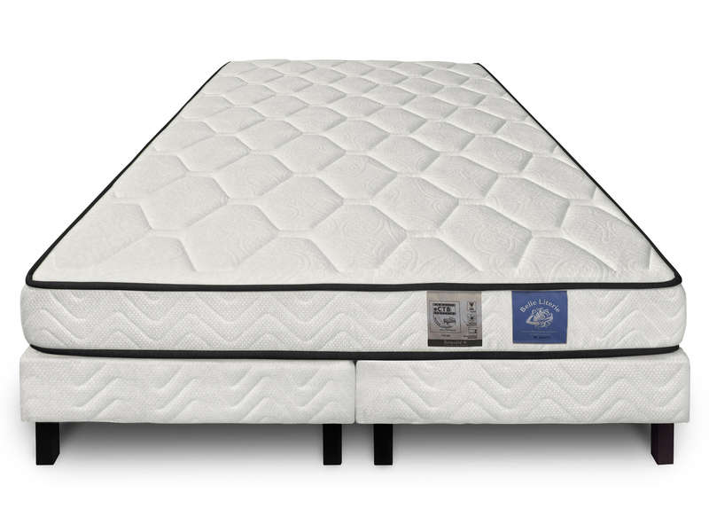 matelas sommier 160x200 cm benoist belle literie zenium promodispo. Black Bedroom Furniture Sets. Home Design Ideas