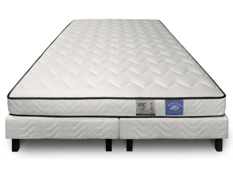 matelas sommier 160x200 cm benoist belle literie. Black Bedroom Furniture Sets. Home Design Ideas