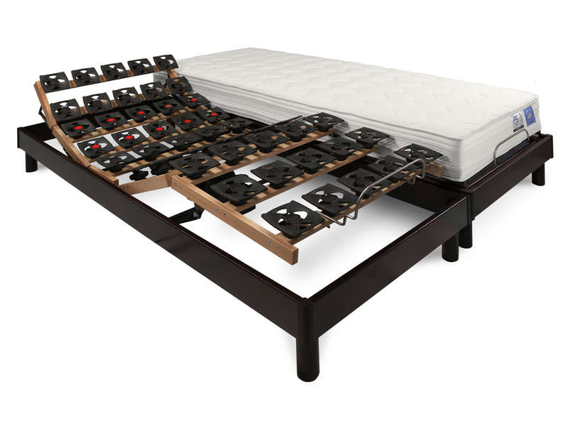 matelas sommier 2x80x200 cm benoist belle literie apaisement vente de ensemble matelas et. Black Bedroom Furniture Sets. Home Design Ideas