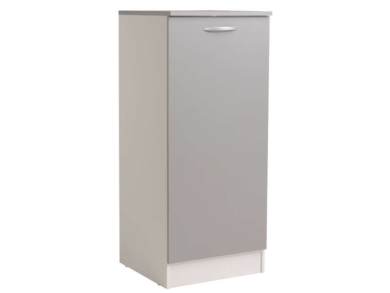 1 2 armoire 60 cm spoon color coloris gris vente de for Element armoire cuisine
