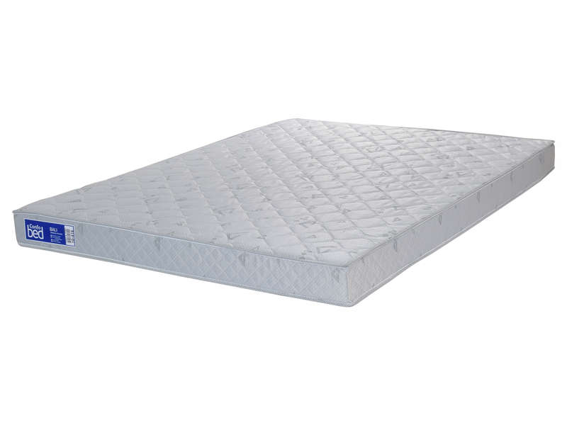 matelas mousse 140x190 cm confobed bali pas cher avis et prix en promo. Black Bedroom Furniture Sets. Home Design Ideas
