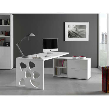 bureau d 39 angle groove coloris acacia conforama bureau d 39 angle groove coloris acacia pas cher. Black Bedroom Furniture Sets. Home Design Ideas