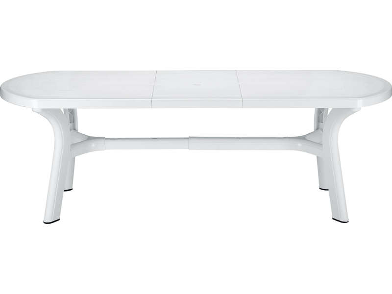 table de jardin en plastique avec rallonge. Black Bedroom Furniture Sets. Home Design Ideas