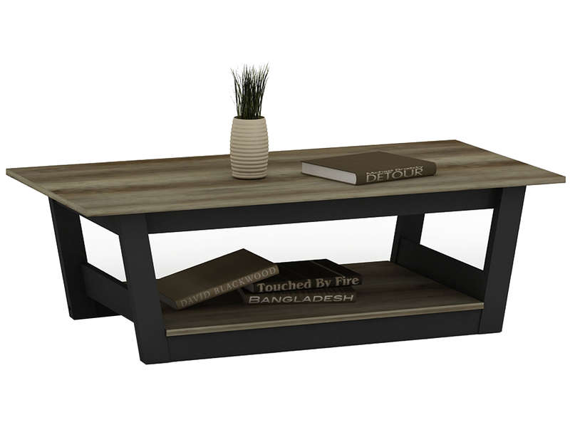 Table basse bicolore voyage bicolore vente de table basse conforama - Table salon verre conforama ...