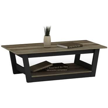 Table basse bicolore VOYAGE bicolore