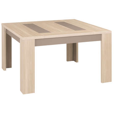 Table carrée 130 cm