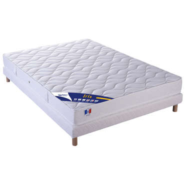 matelas sommier 140x190 cm volupnight iris vente de. Black Bedroom Furniture Sets. Home Design Ideas
