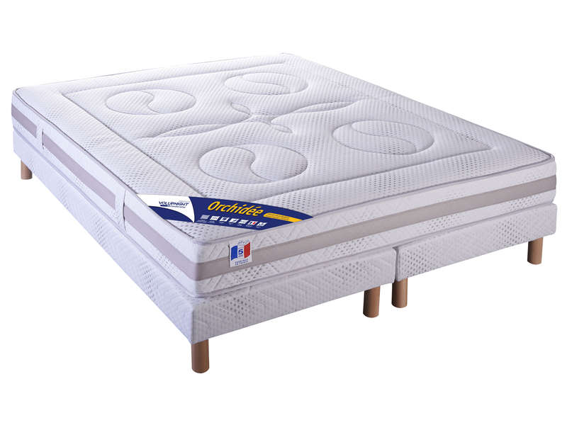 Matelas + Sommier 160X200 Cm Volupnight Prestige By Conforama