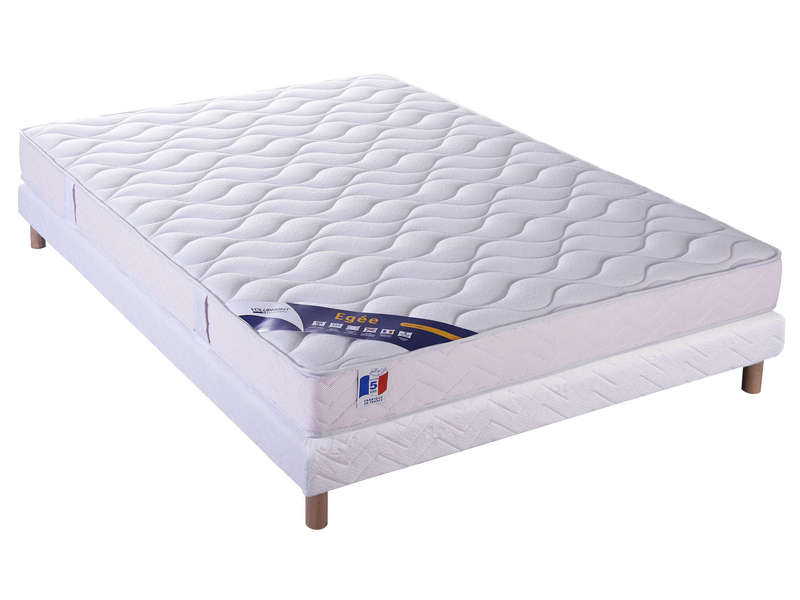 matelas sommier 140x190 cm volupnight egee vente de ensemble matelas et sommier conforama. Black Bedroom Furniture Sets. Home Design Ideas