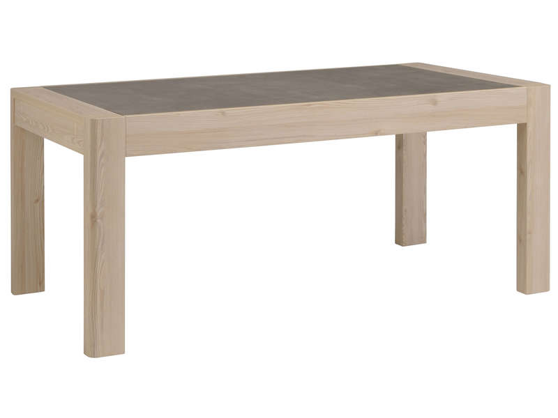 Table de s jour 180 cm chris vente de table de cuisine for Table sejour conforama