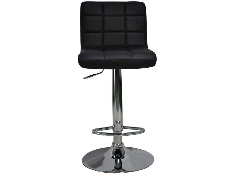 tabourets de bar florence coloris noir vente de chaise. Black Bedroom Furniture Sets. Home Design Ideas