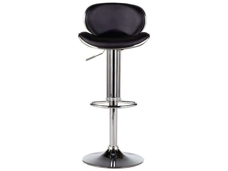 Tabouret de bar shoko coloris noir vente de chaise de for Chaise de bar blanche