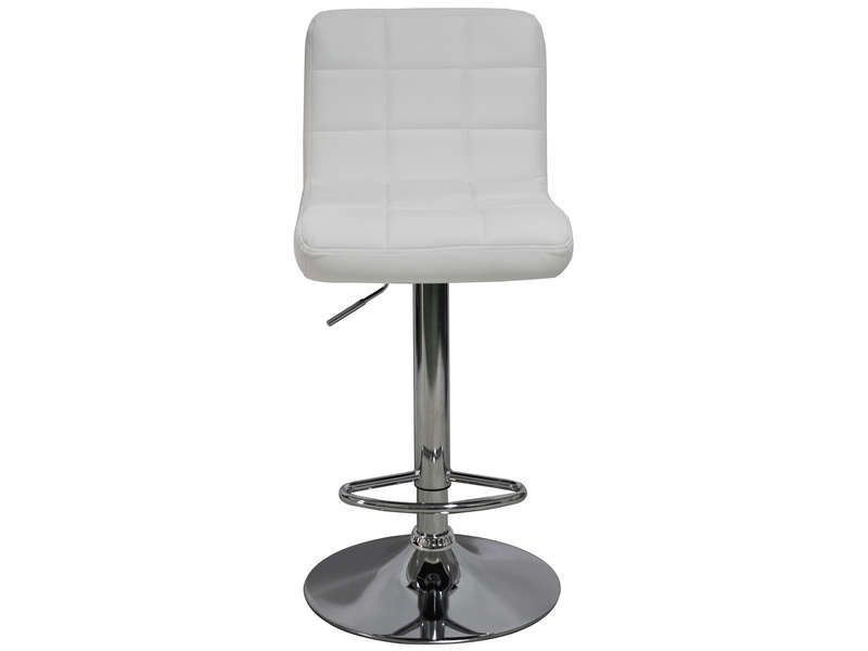 Tabouret De Bar FLORENCE Coloris Blanc