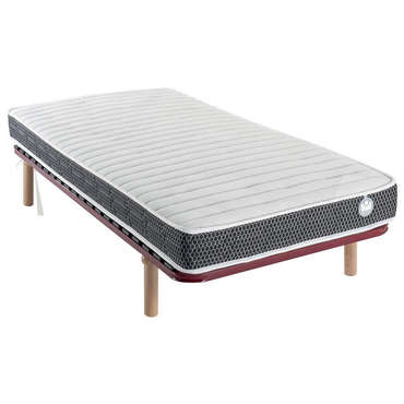 matelas mousse 90x190 cm bultex superfan 2 vente de literie de relaxation conforama. Black Bedroom Furniture Sets. Home Design Ideas