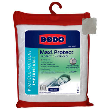 Protège-matelas 180x200 cm DODO MAXI PROTECT