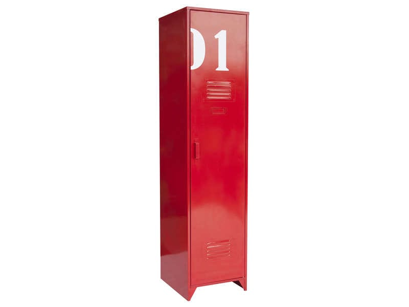 armoire metallique rouge conforama. Black Bedroom Furniture Sets. Home Design Ideas