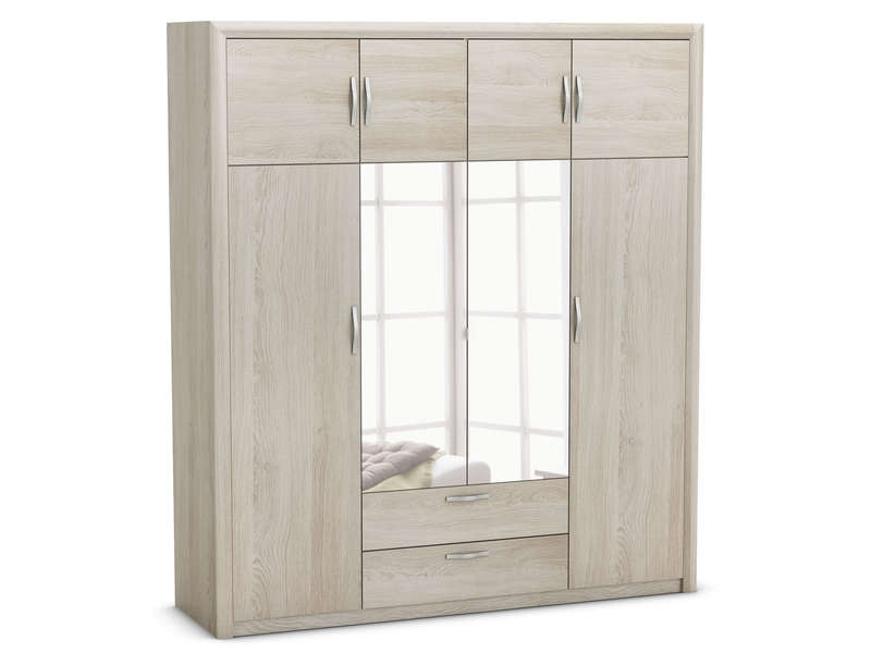 armoire pluton coloris ch ne shanon vente de armoire. Black Bedroom Furniture Sets. Home Design Ideas
