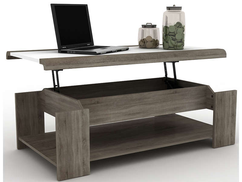 table basse reglable conforama