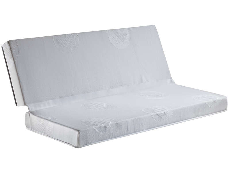 matelas mousse 130x190 cm bultex clic clac vente de literie de relaxation conforama. Black Bedroom Furniture Sets. Home Design Ideas
