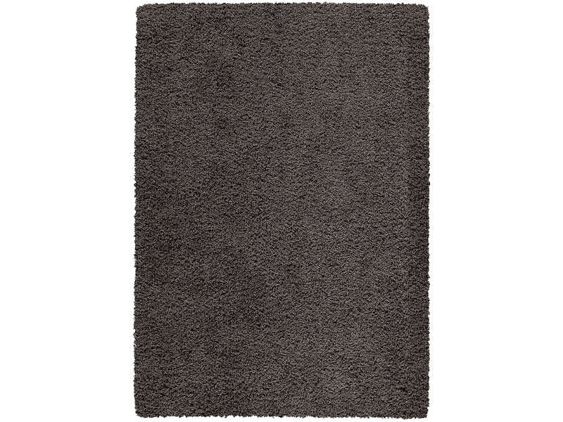 tapis 200x290 cm shaggy studio coloris noir vente de. Black Bedroom Furniture Sets. Home Design Ideas