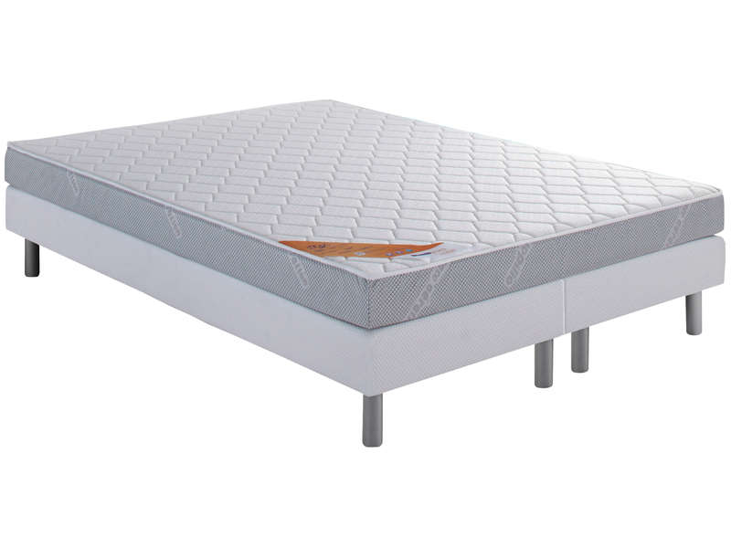 matelas sommier 160x200 cm dunlopillo start vente de ensemble matelas et sommier conforama. Black Bedroom Furniture Sets. Home Design Ideas