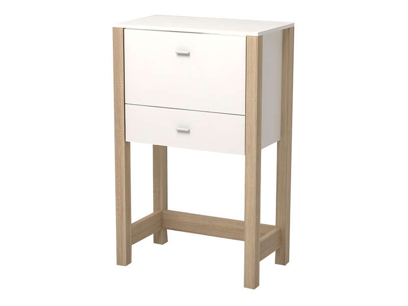 Meuble Ordinateur Ferm Conforama Table De Lit