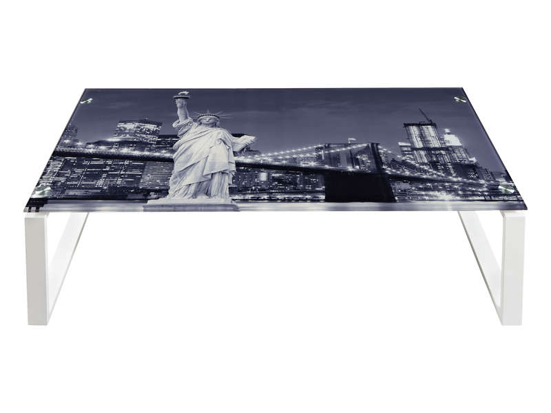 Table basse verre new york - Table basse new york pas cher ...