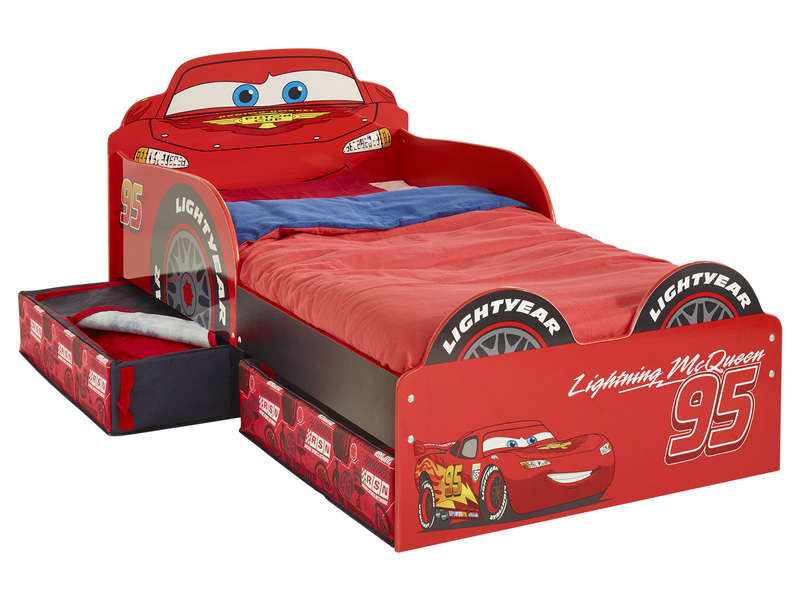 lit voiture 70x140 cm disney cars vente de lit enfant conforama. Black Bedroom Furniture Sets. Home Design Ideas